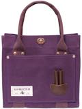 純綿6号帆布色見本/紫