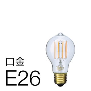 Only One LED電球「Siphon(サイフォン)」オリジナル LDF29A