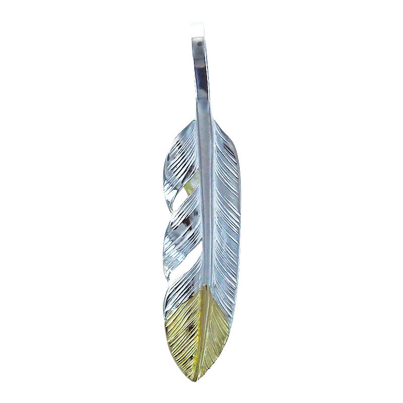 S feather K18 top 01 M K18 eagle metal