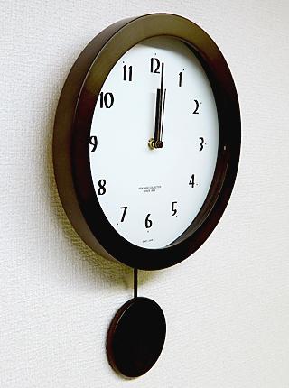 さんてる 天然木 電波振り子 柱時計 DNB501