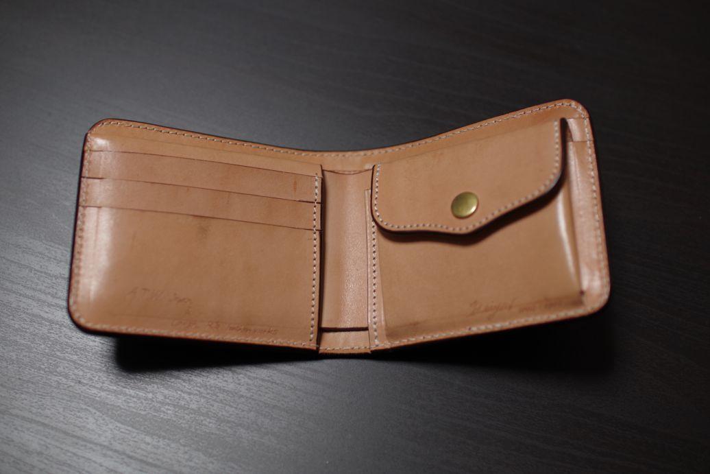 ATWオーダー革の財布