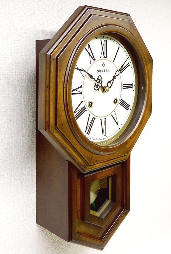 厚木の国産時計さんてるボンボン時計QL688