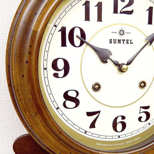 さんてる 渦ボン振り子時計 QL687