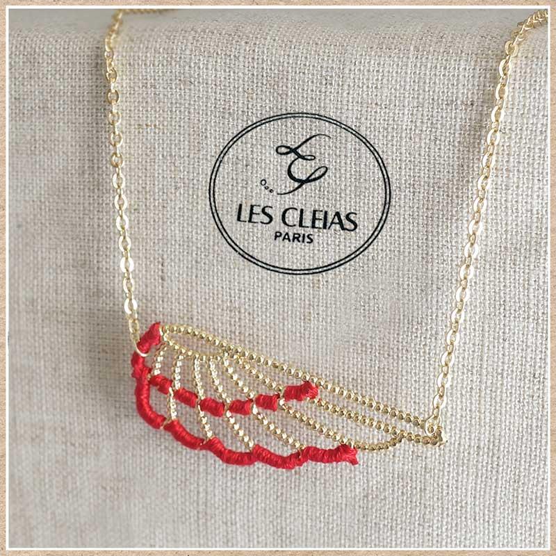 フランスのアクセサリー レクレアスのネックレス