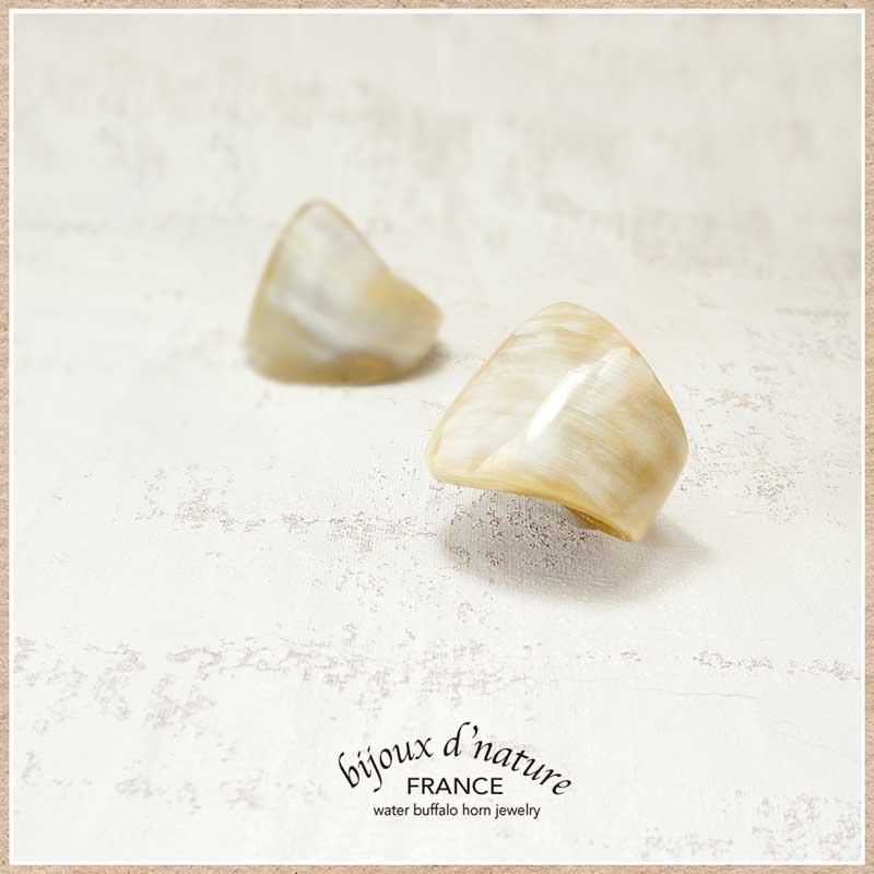 水牛の角の指輪(リング)フランス