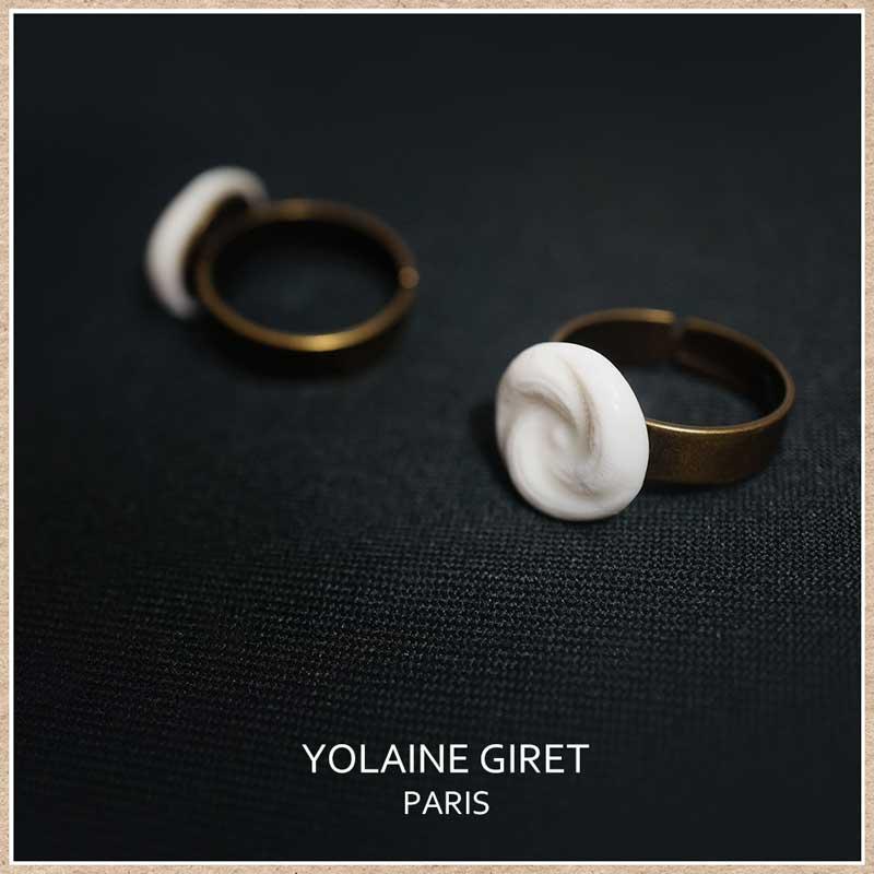 フランスのアクセサリー ヨレーヌジレのリング(指輪)