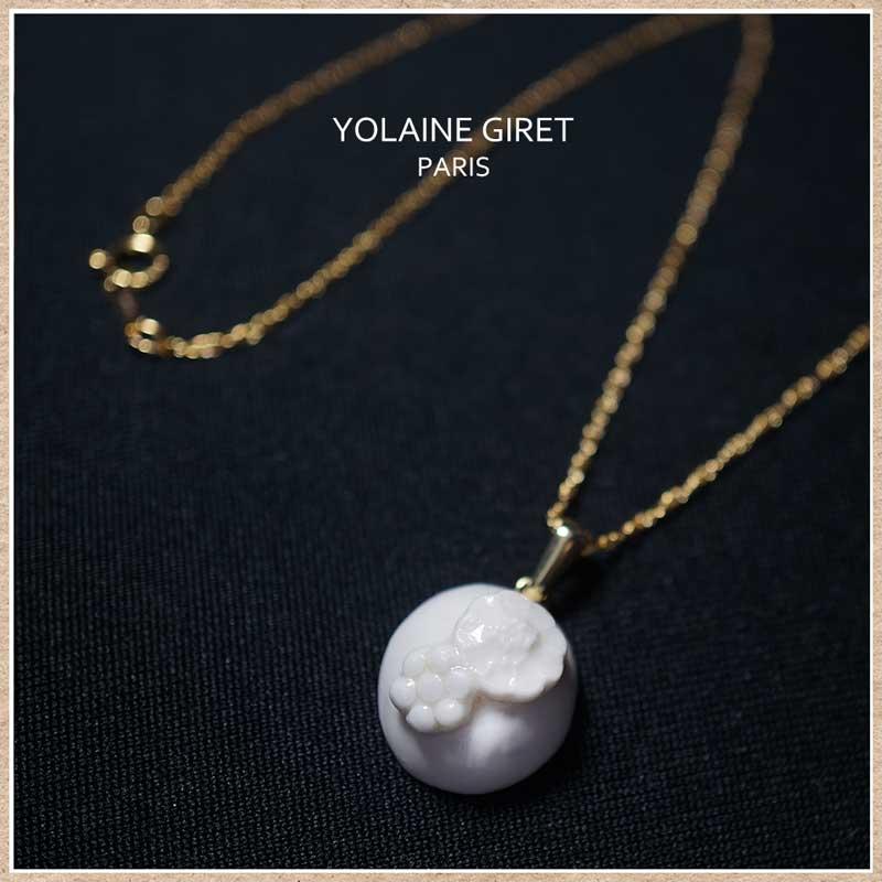 フランスのアクセサリー YOLAINE GIRET (ヨレーヌ・ジレ)