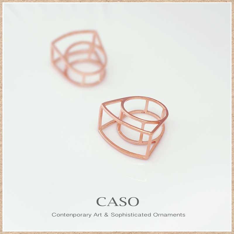 ピンクゴールド リング(指輪)