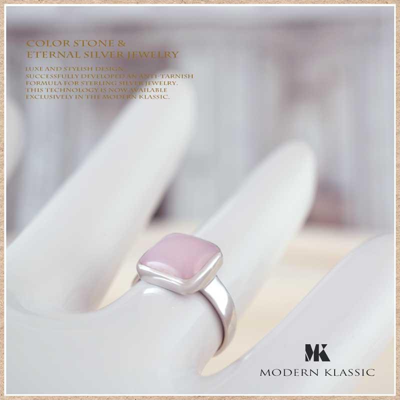 MODERN KLASSIC ピンクオパールのリング