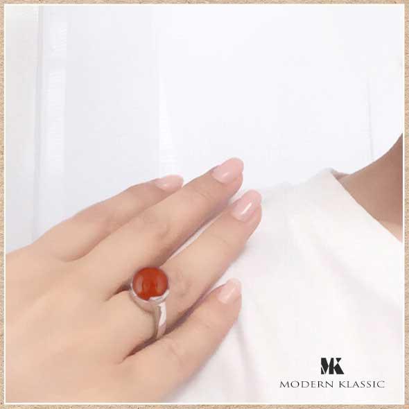 カーネリアンのリング(指輪)